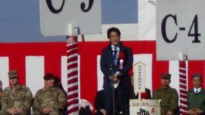第1空挺団新年初降下における、小西ひろゆき議員の残念な振る舞い